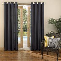 Sun Zero UV Blocking Reed Indoor / Outdoor Woven Curtain
