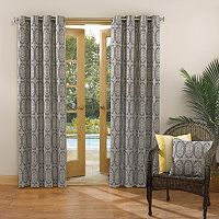 Sun Zero UV Blocking Capitol Indoor / Outdoor Woven Curtain