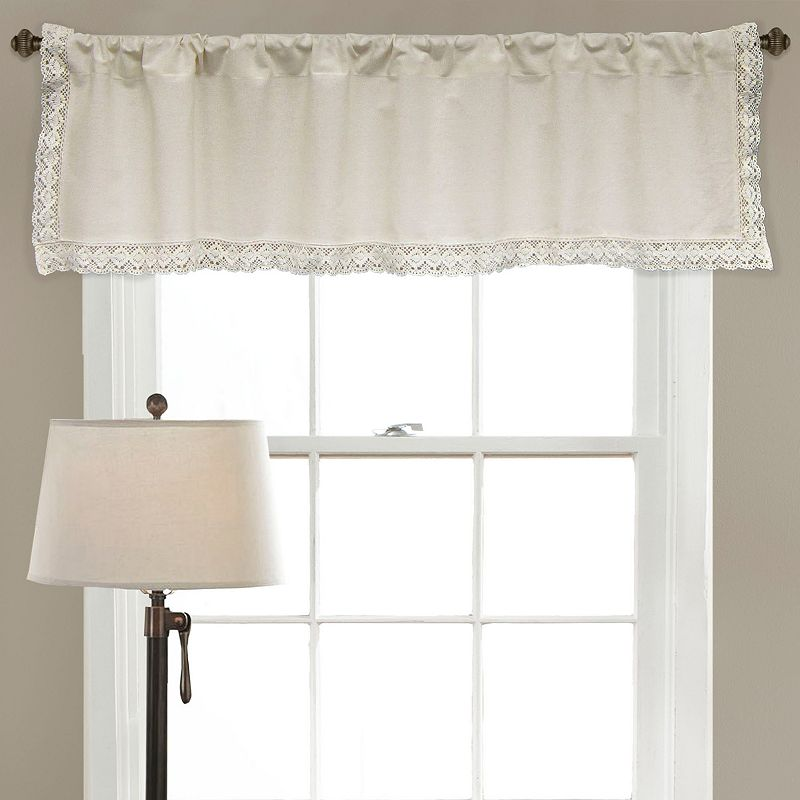 Lush Decor Rosalie Lace Chic Valance - 54'' x 18''