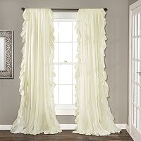 Lush Decor 2-pack Reyna Cascading Curtains - 54'' x 84''