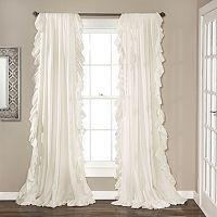 Lush Decor 2-pack Reyna Cascading Curtains - 54'' x 84''