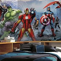 Marvel Avengers Assemble Removable Wallpaper Mural