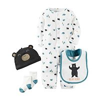 Baby Boy Carter's Woodland Convertible Coveralls Set
