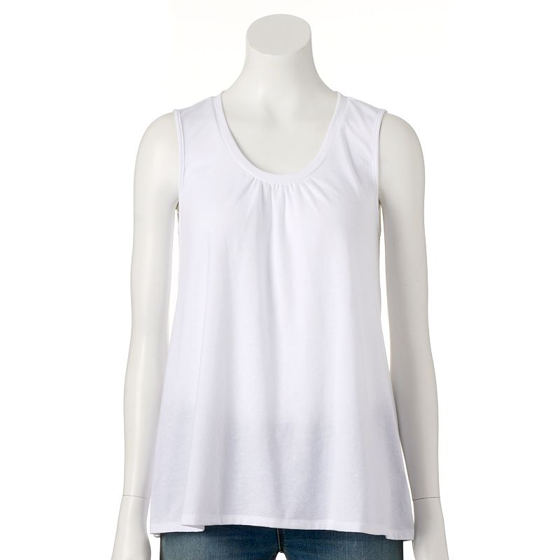 Women's SONOMA Goods for Life™ Scoopneck Swing Tank