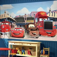 Disney / Pixar Cars Friends to the Finish Removable Wallpaper Mural  by
