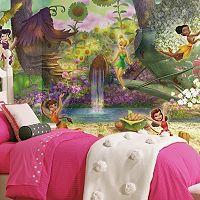 Disney Fairies Pixie Hollow Removable Wallpaper Mural