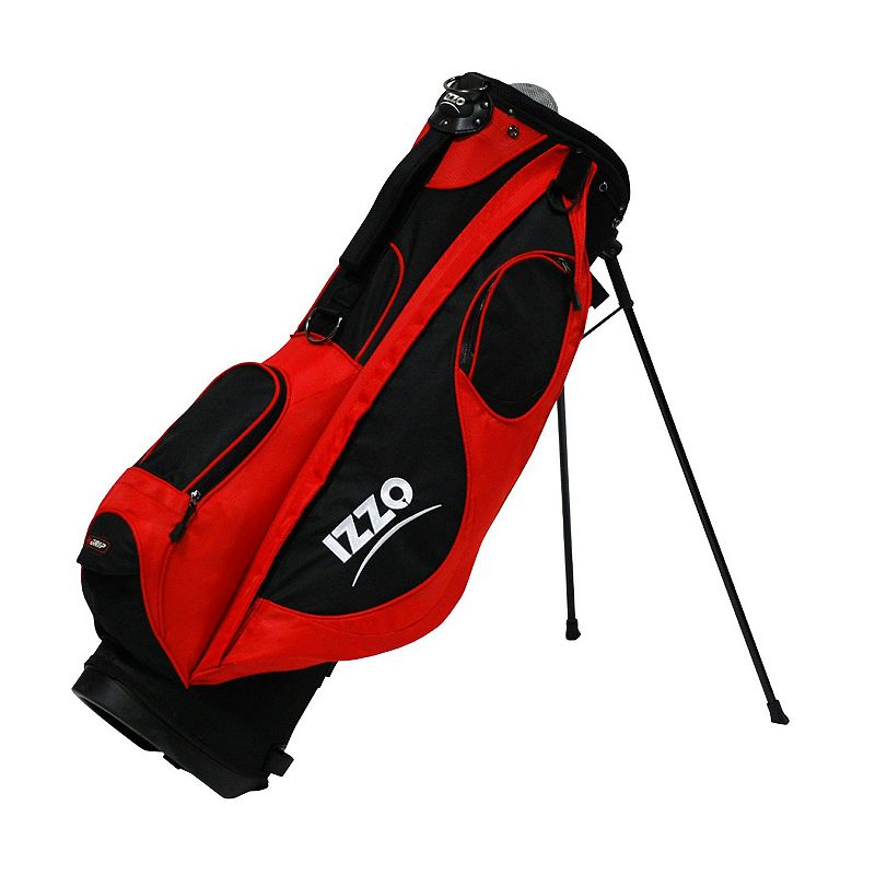 Adult Izzo Golf Neo Stand-Up Golf Bag, Red