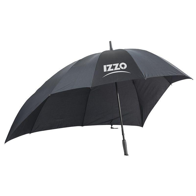 Izzo Golf Push Cart Umbrella, Black