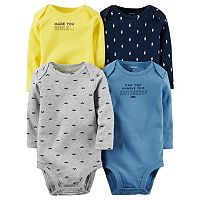 Baby Boy Carter's 4-pk. Print & Graphic Bodysuits