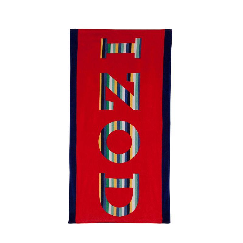 IZOD Rainbow Beach Towel