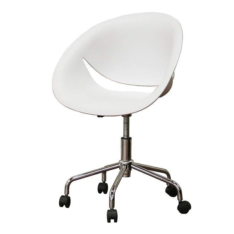 Baxton Studio Justina Swivel Office Chair