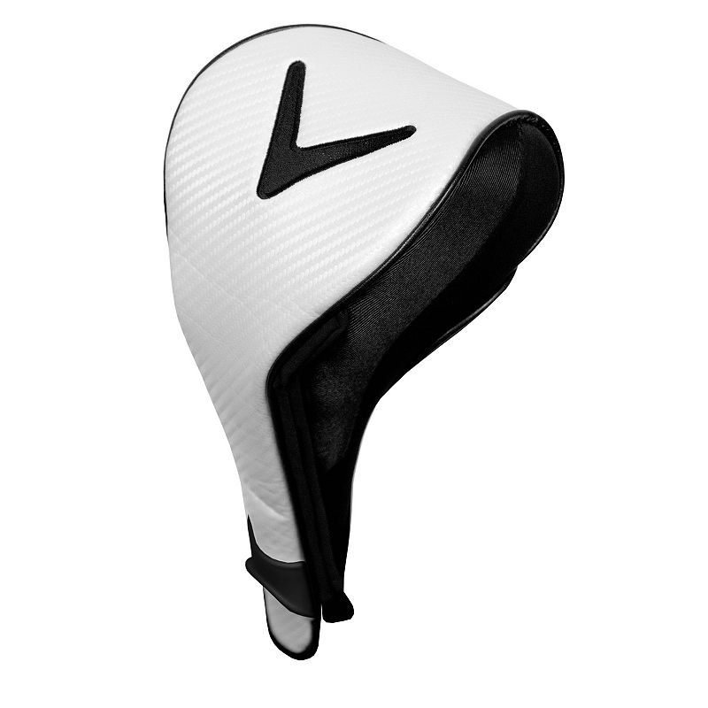 Callaway Dual Mag Driver Headcover (White/Black)