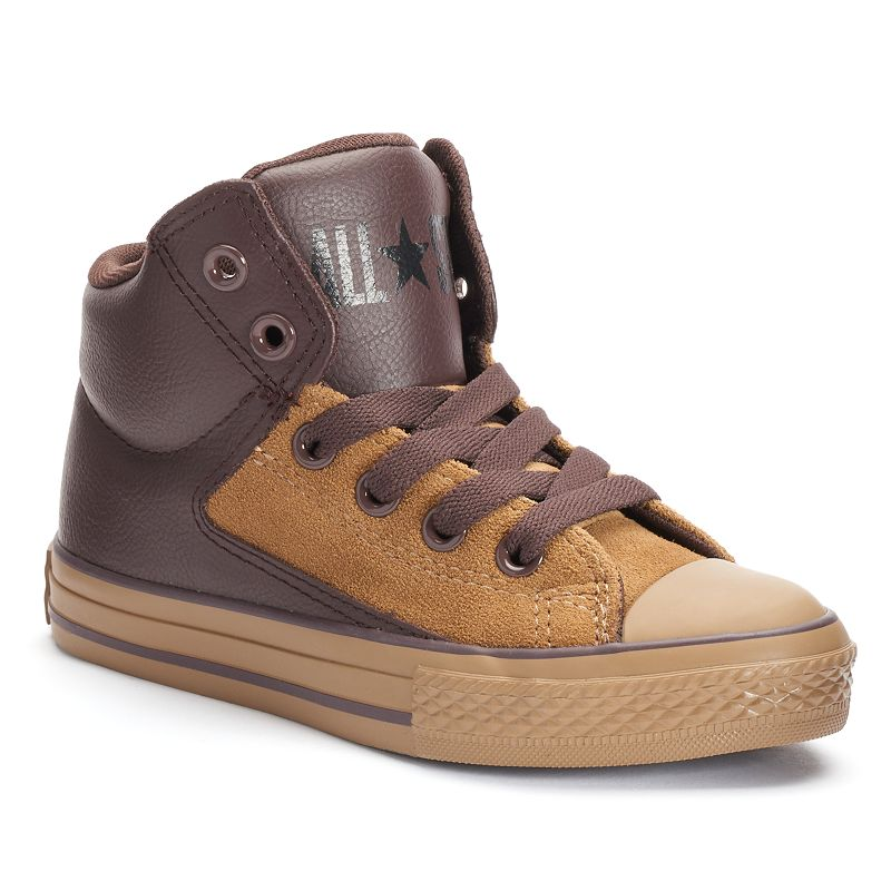 Kid's Converse Chuck Taylor All Star High Street Hi Leather Sneakers