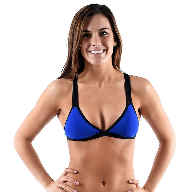 Women's Dolfin Bellas Colorblock Mesh Bikini Top