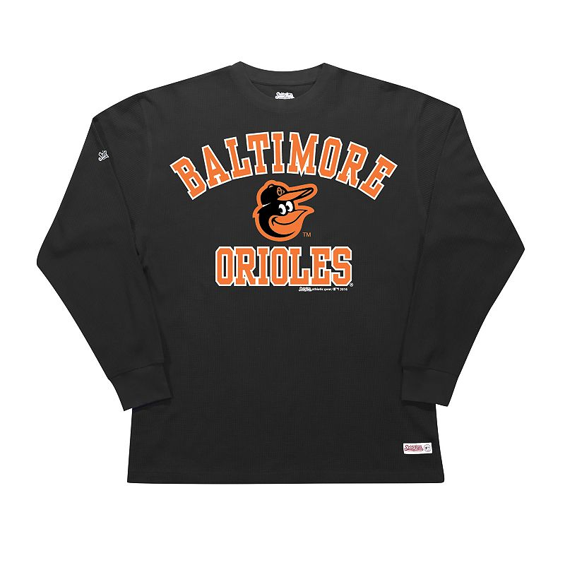 Men's Stitches Baltimore Orioles Thermal Tee
