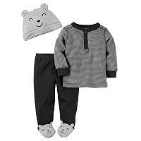 Baby Boy Carter's 3-pc. Henley & Pants Set