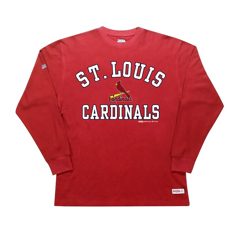 Men's Stitches St. Louis Cardinals Thermal Tee