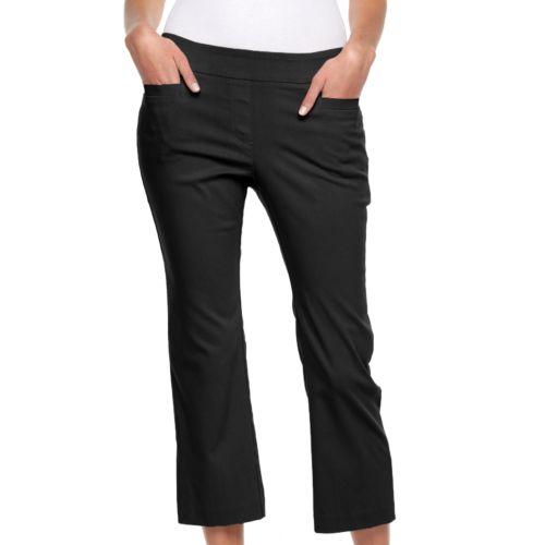 Women's Briggs Pull-On Crop Pants