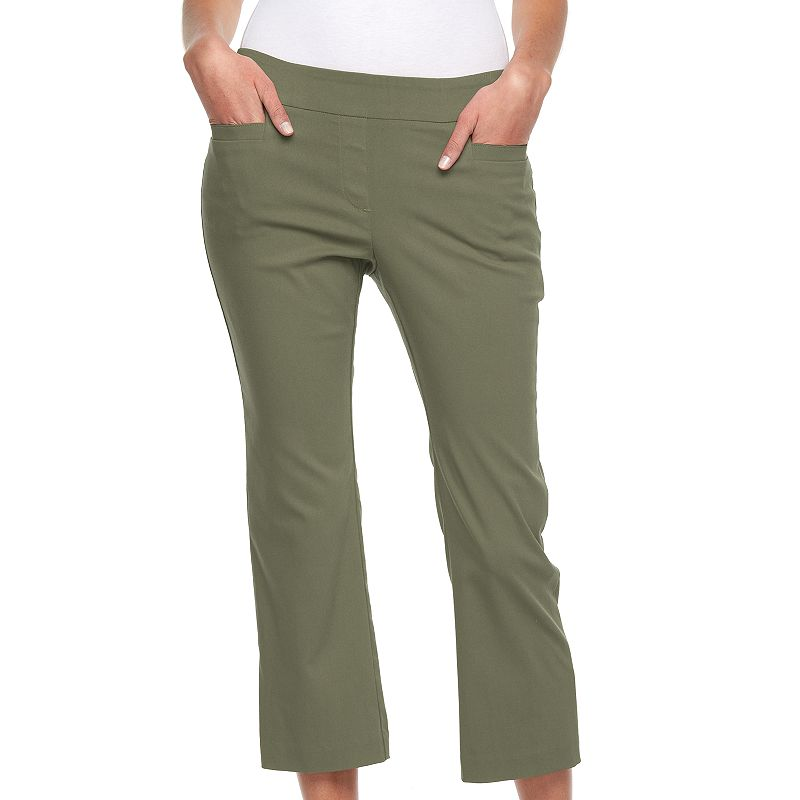 Women's Croft & Barrow® Pull-On Crop Pants