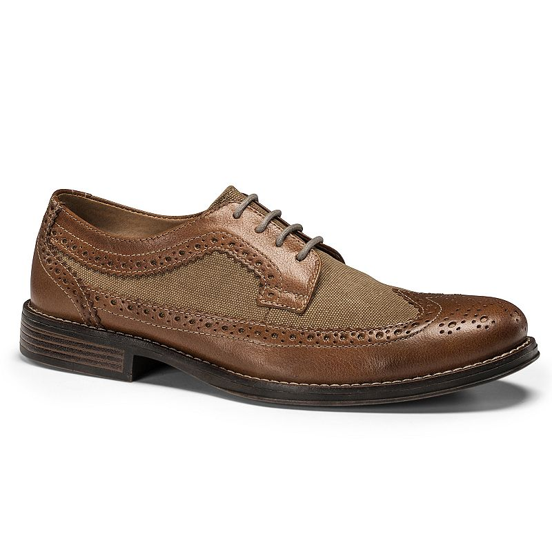 Dockers Hathaway Men's Leather Wingtip Dress Shoes