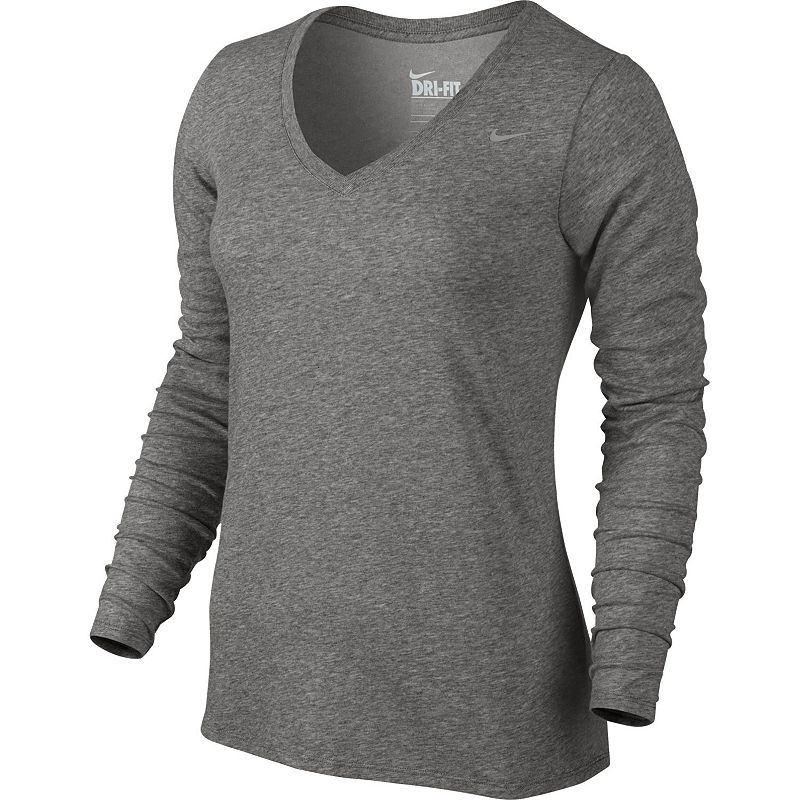 Women's Nike Dri-FIT V-Neck Workout Tee