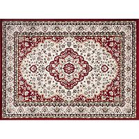 World Rug Gallery Toscana Traditional Persian Framed Floral Rug