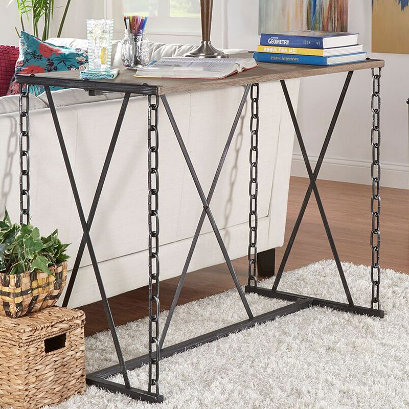Homevance lively chain link sofa table dealtrend
