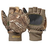 Boys Hot Shot Flip-Top Fleece Gloves