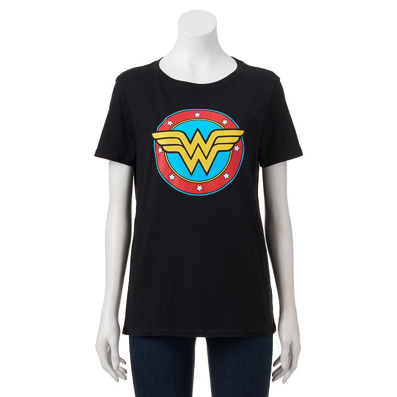 Juniors' DC Comics Wonder Woman Logo Graphic Tee