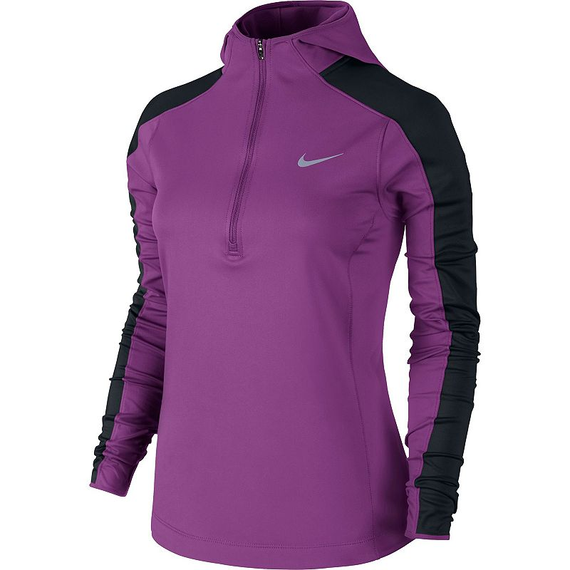 Women's Nike Thermal Dri-FIT Quarter-Zip Running Hoodie