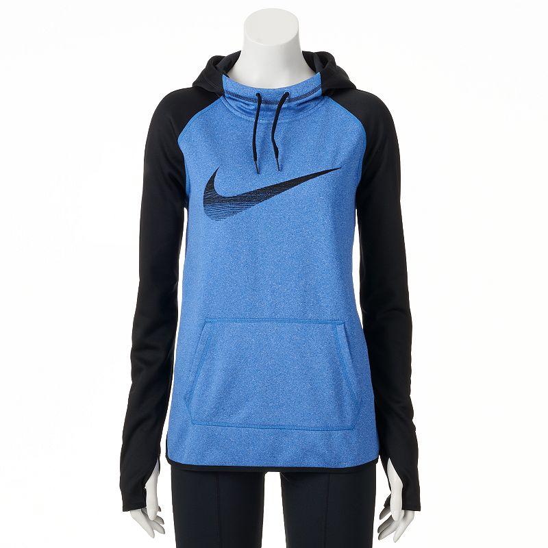 Women's Nike All-Time Swoosh Raglan Workout Hoodie