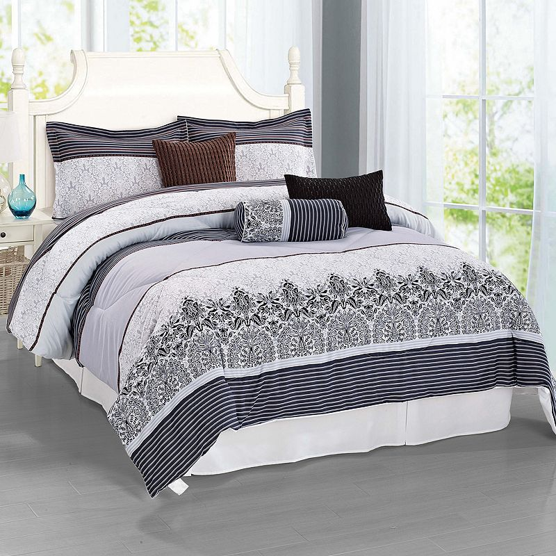 Journee Home Tranquil 7-piece Bed Set