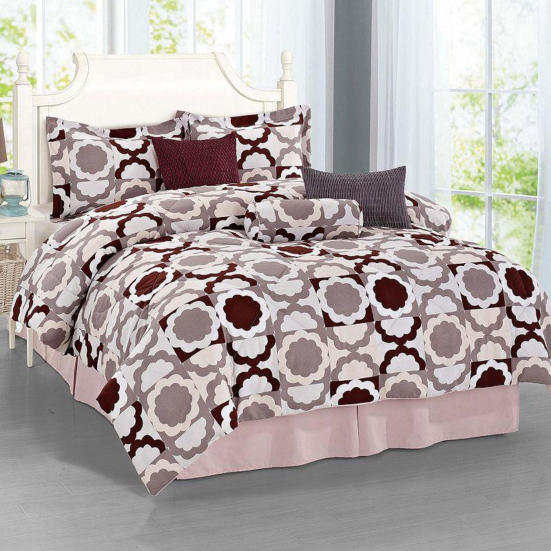 Journee Home Sweeten 7-piece Bed Set