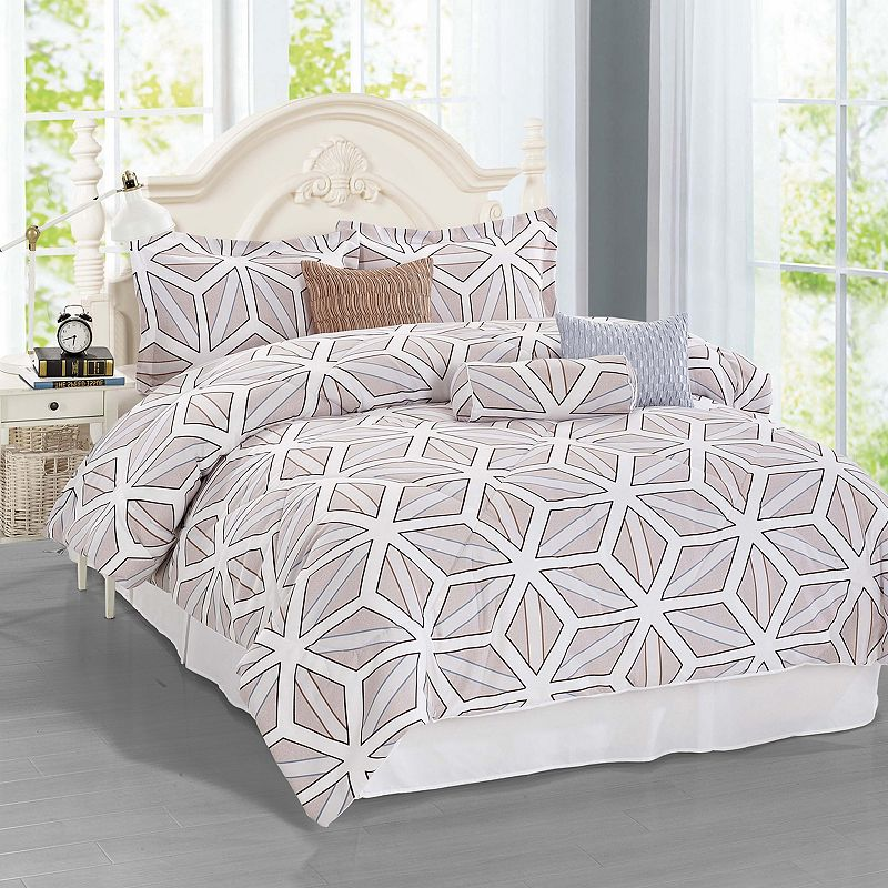 Journee Home Ease 7-piece Bed Set