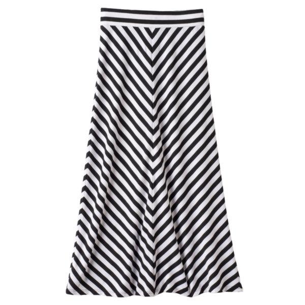 Girls 7-16 Joey B Chevron Maxi Skirt