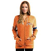Women's Majestic Denver Broncos Athletic Tradition Hoodie