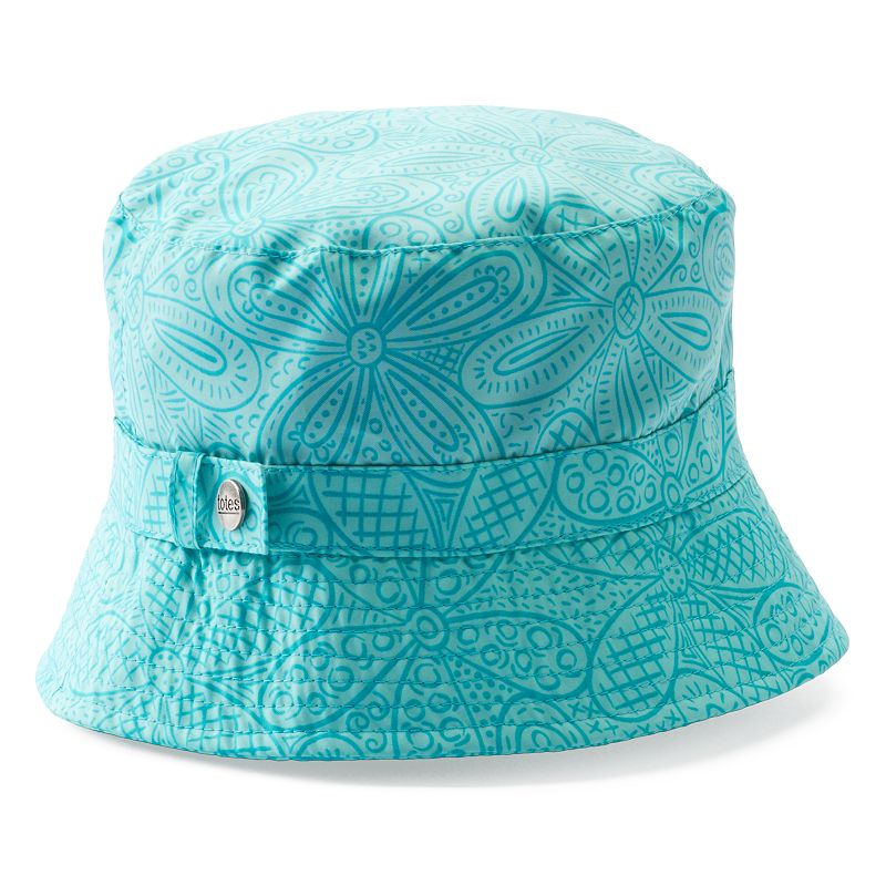 Totes Floral Rain Hat