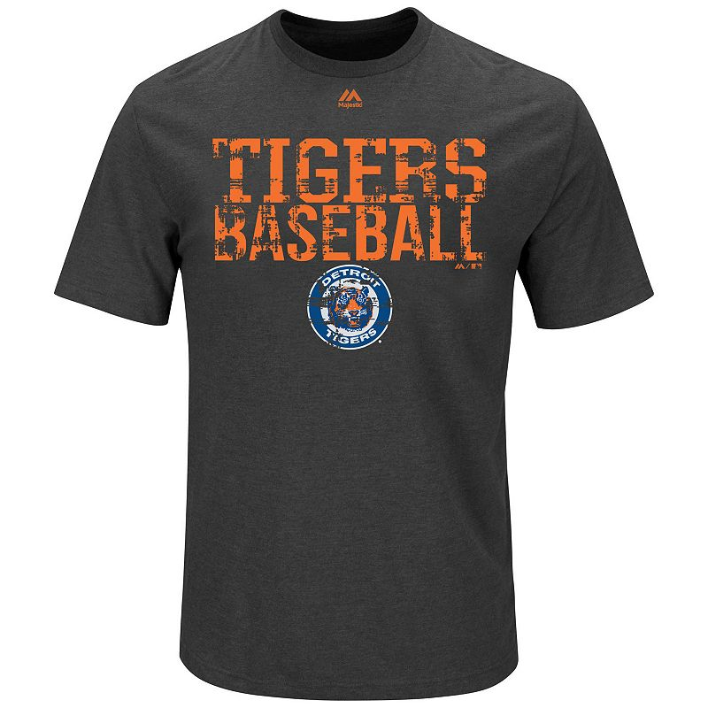 Big & Tall Majestic Detroit Tigers Cooperstown One Winner Tee