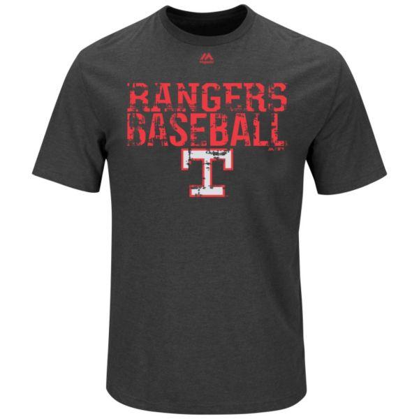 Big & Tall Majestic Texas Rangers Cooperstown One Winner Tee