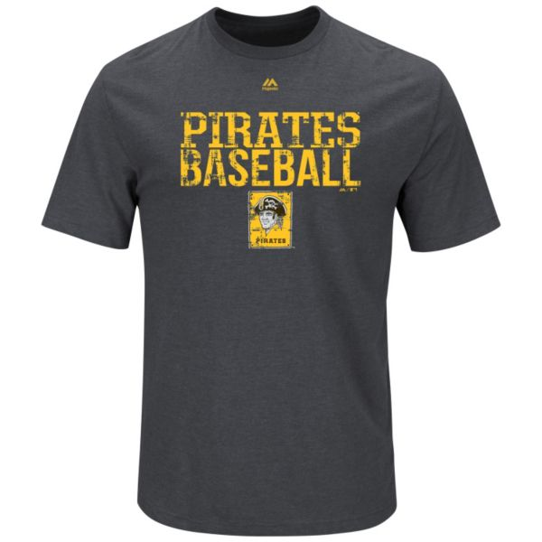 Big & Tall Majestic Pittsburgh Pirates Cooperstown One Winner Tee