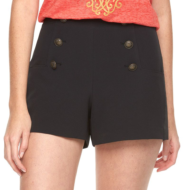 Disney's Alice Through the Looking Glass Designer Collection by Colleen Atwood Sailor Shorts - Women's