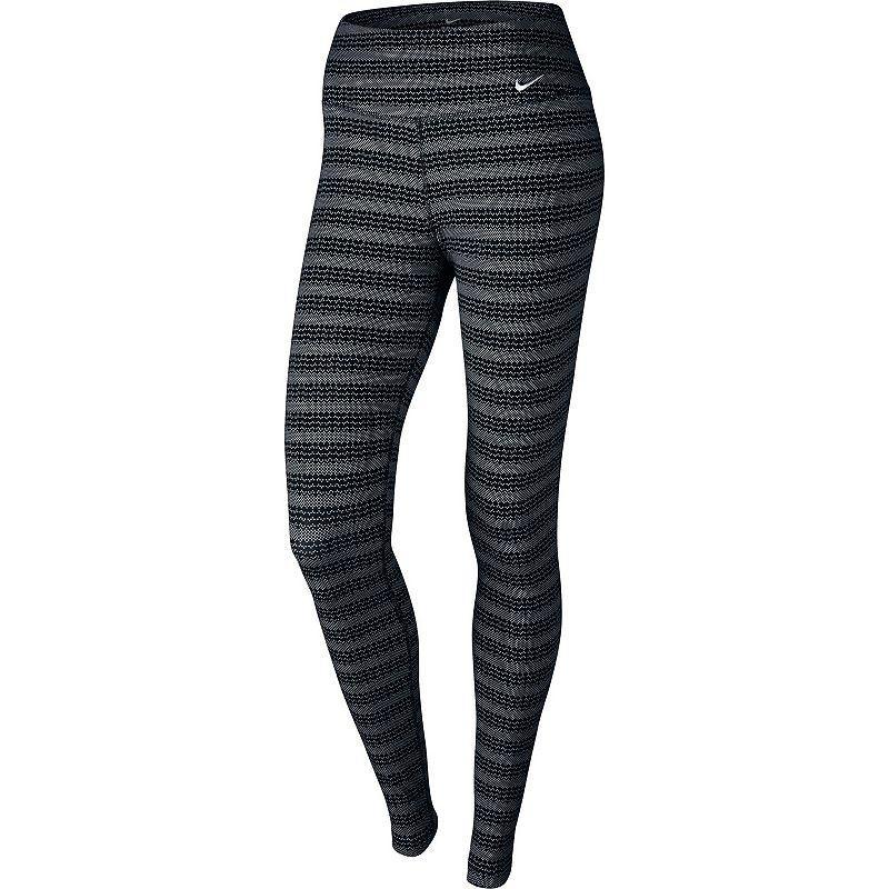 Women's Nike Legend Dri-FIT Cotton Zig Dot Workout Tights