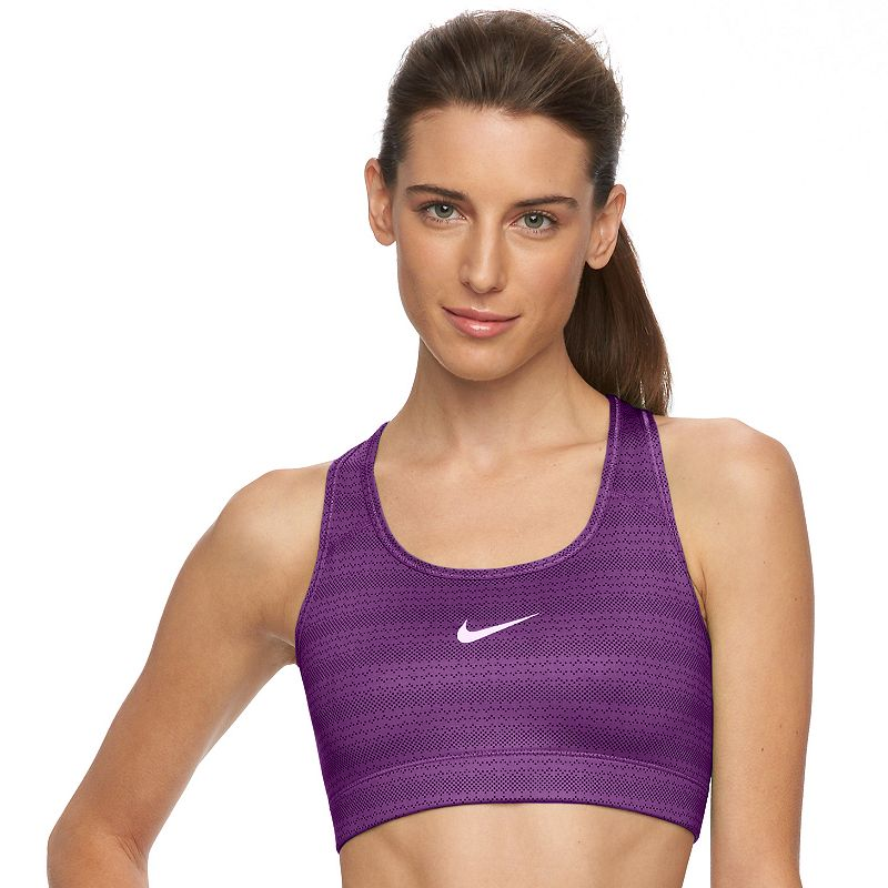 Nike Bra: Dri-FIT Victory Compression Zig Dot Medium-Impact Sports Bra 727013