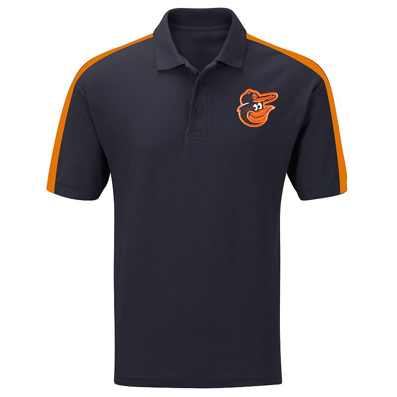 Big & Tall Majestic Baltimore Orioles Colorblock Polo