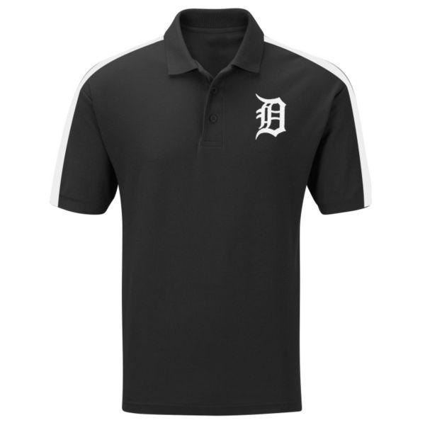 Big & Tall Majestic Detroit Tigers Colorblock Polo