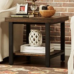 HomeVance Drake End Table by
