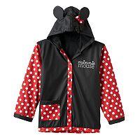 Disney's Minnie Mouse Girls 2-8 Dot Rain Coat
