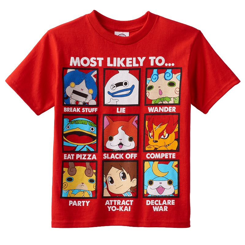 Boys 4-7 Yo-Kai Watch