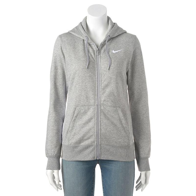 Women's Nike Club Graphic 1T Full-Zip Fleece Hoodie