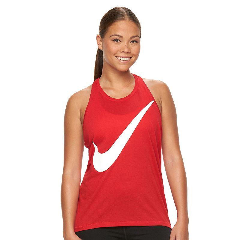 Women's Nike Prep Swoosh Racerback Workout Tank